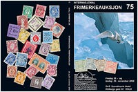 stamp auction catalogue # 75